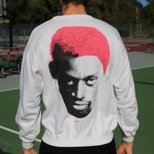Vintage Nike Dennis Rodman Crewneck🏀